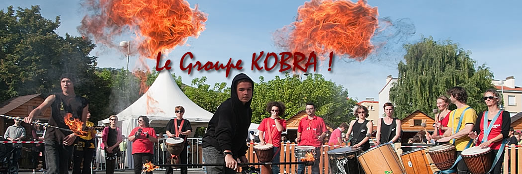Dynamisez vos manifestations avec le groupe KOBRA !