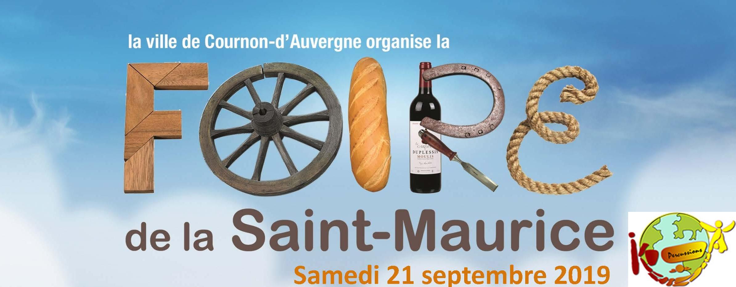 foire Saint Maurice 2019
